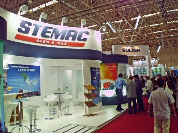 estande STEMAC Brasil Offshore 2011