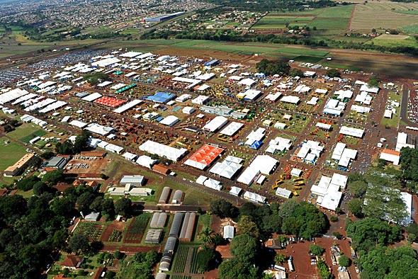 Agrishow 2012 vista aérea