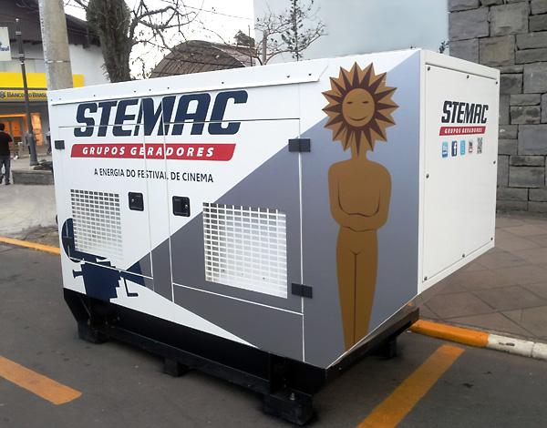 conteiner STEMAC festival Cinema Gramado Kikito