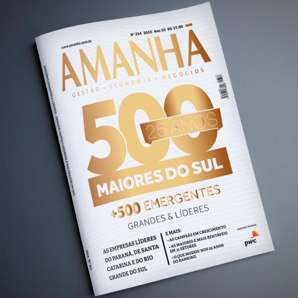 STEMAC-Revista-Amanhã - 500 Maiores do Sul