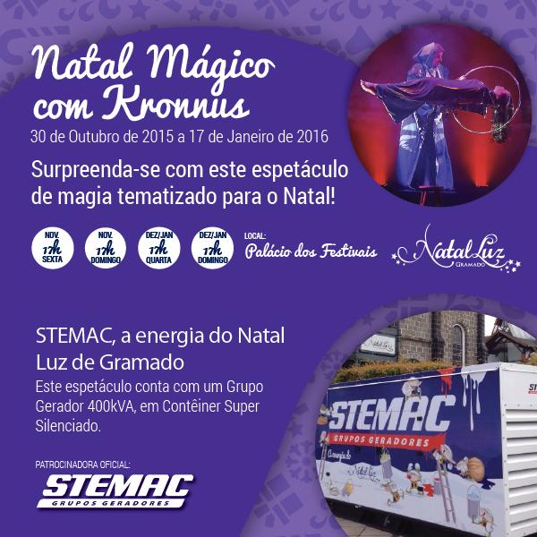 STEMAC - Natal Luz - Kronnus